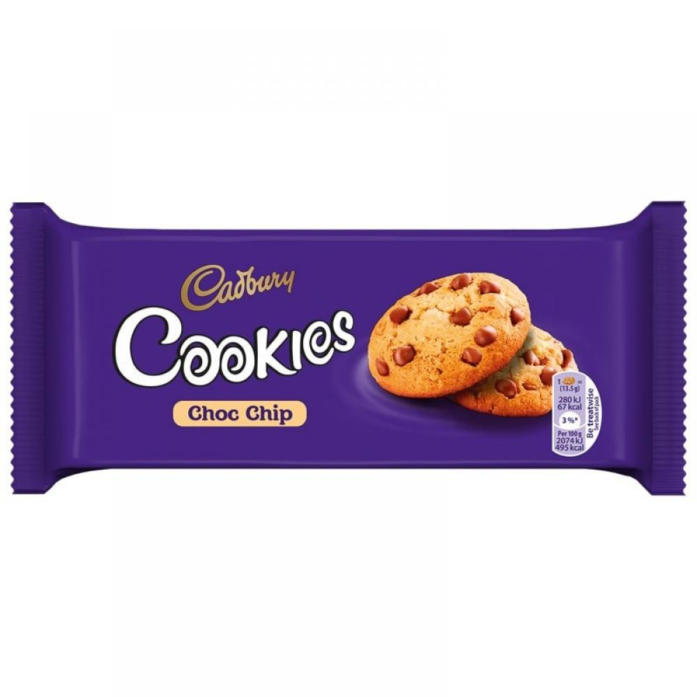 Cadbury Cookies Choc Chip 135g