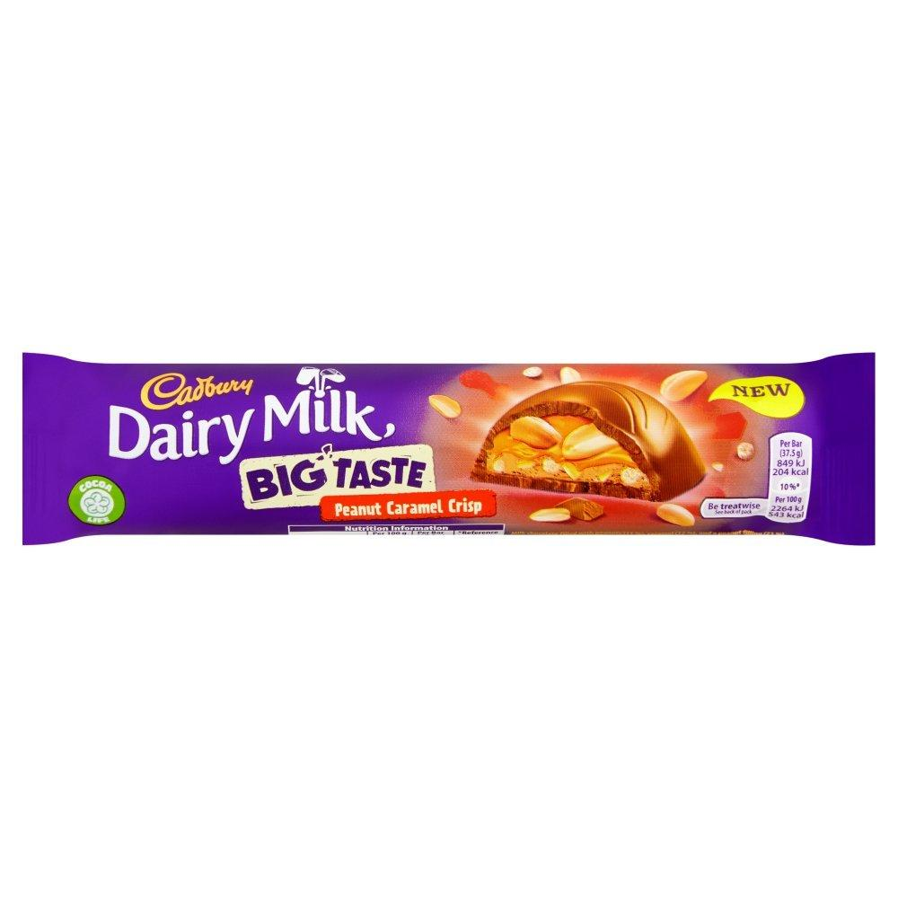 Cadbury Dairy Milk Big Taste Peanut Caramel Crisp 37.5g