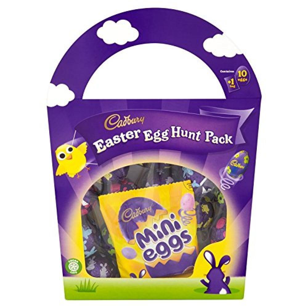 Cadbury Easter Egg Hunt Chocolate Pack 176g