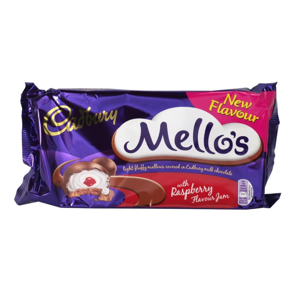 Cadbury Mellos Raspberry Jam 120g