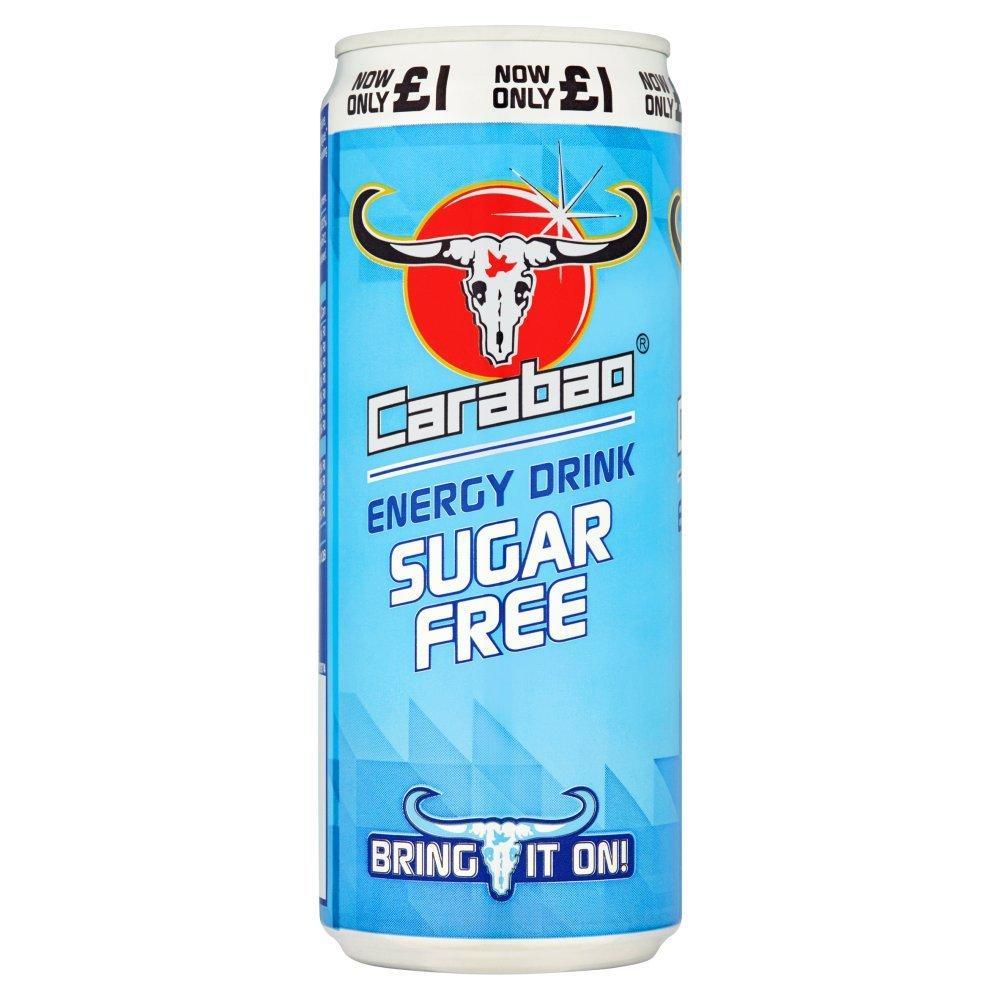 Carabao Sugar Free Energy Drink 330ml