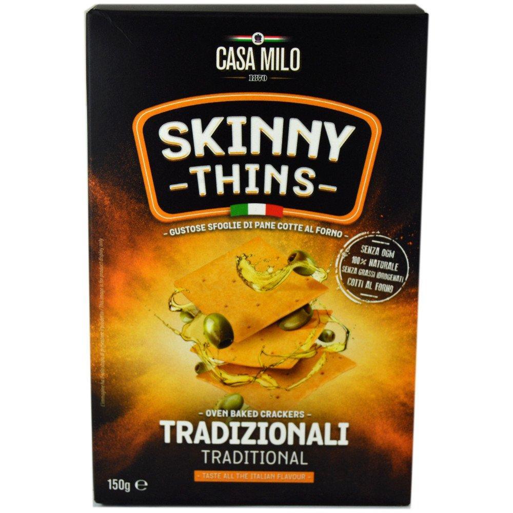Casa Milo Skinny Thins Traditional 150g