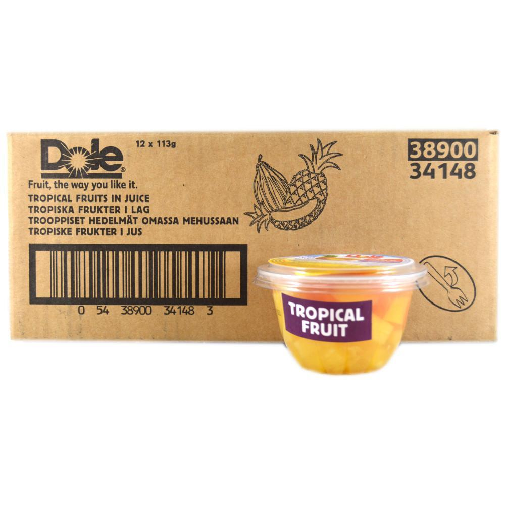 CASE PRICE  Dole Tropical Fruits in Juice 113g x 6