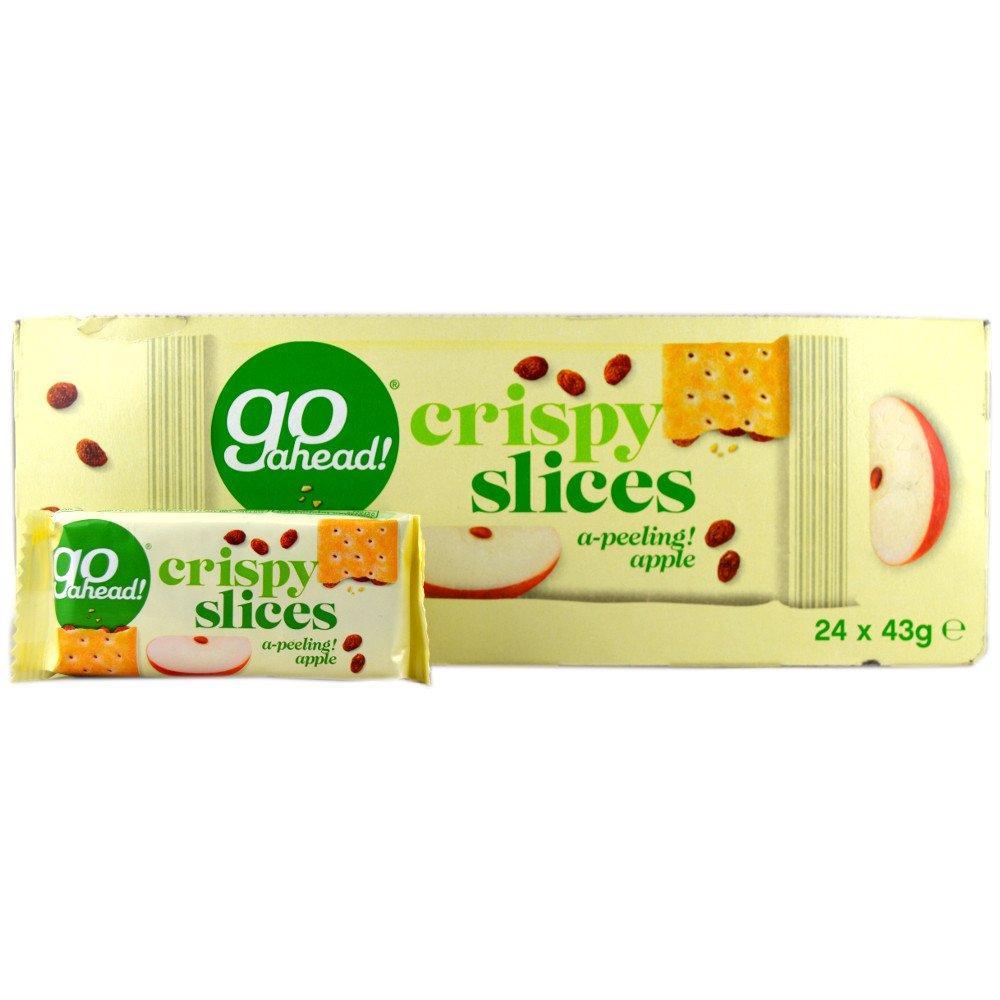 CASE PRICE  Go Ahead Crispy Slices Apple 43g x 24