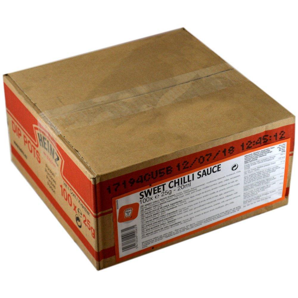 CASE PRICE  Heinz Sweet Chilli Sauce 20ml x 100