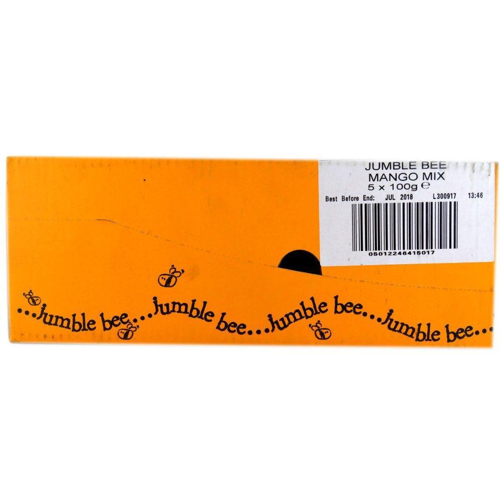 CASE PRICE  Jumble Bee Mango Mix 100g x 5