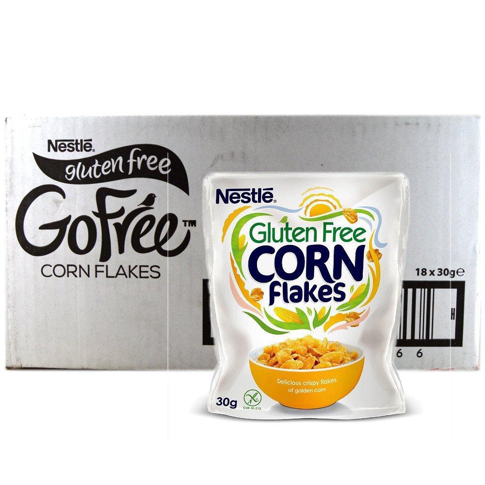 CASE PRICE  Nestle Go Free Corn Flakes 30g x 18