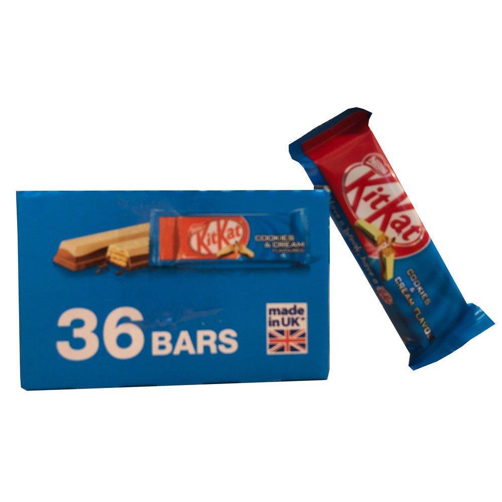 CASE PRICE  Nestle Kitkat Cookies and Cream 36 x 20.7g
