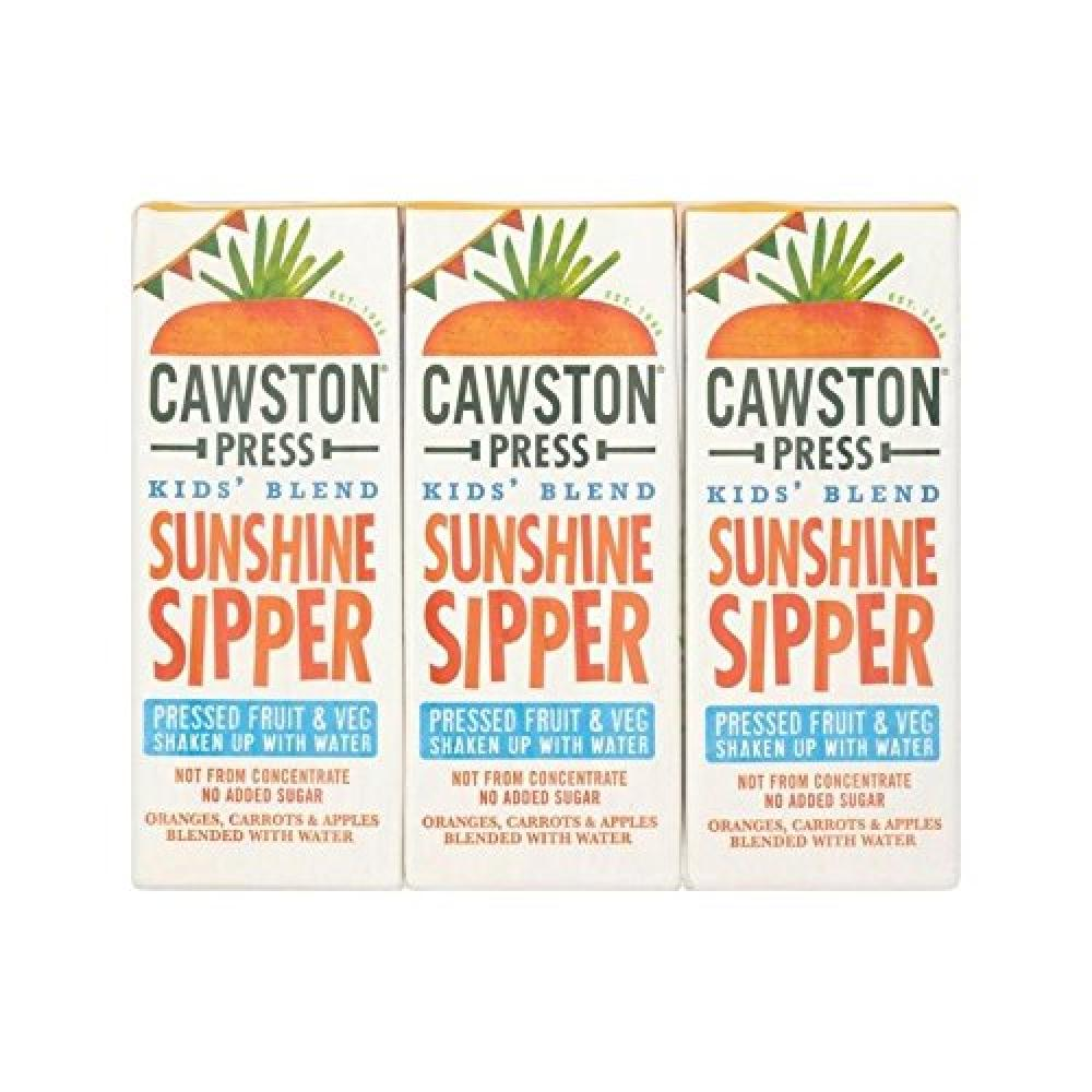 Cawston Press Kids Blend Sunshine Sipper 200ml x 3