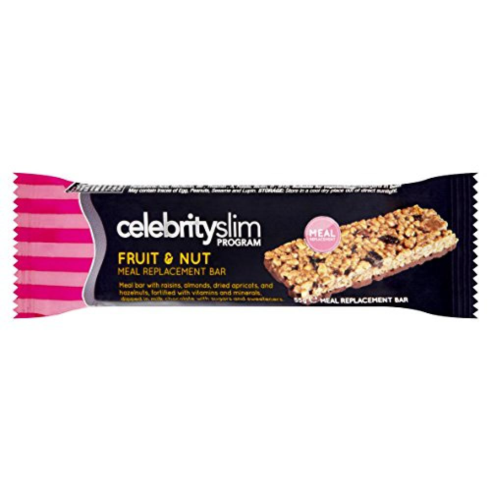 Celebrity Slim Fruit and Nut Meal Bar 55g