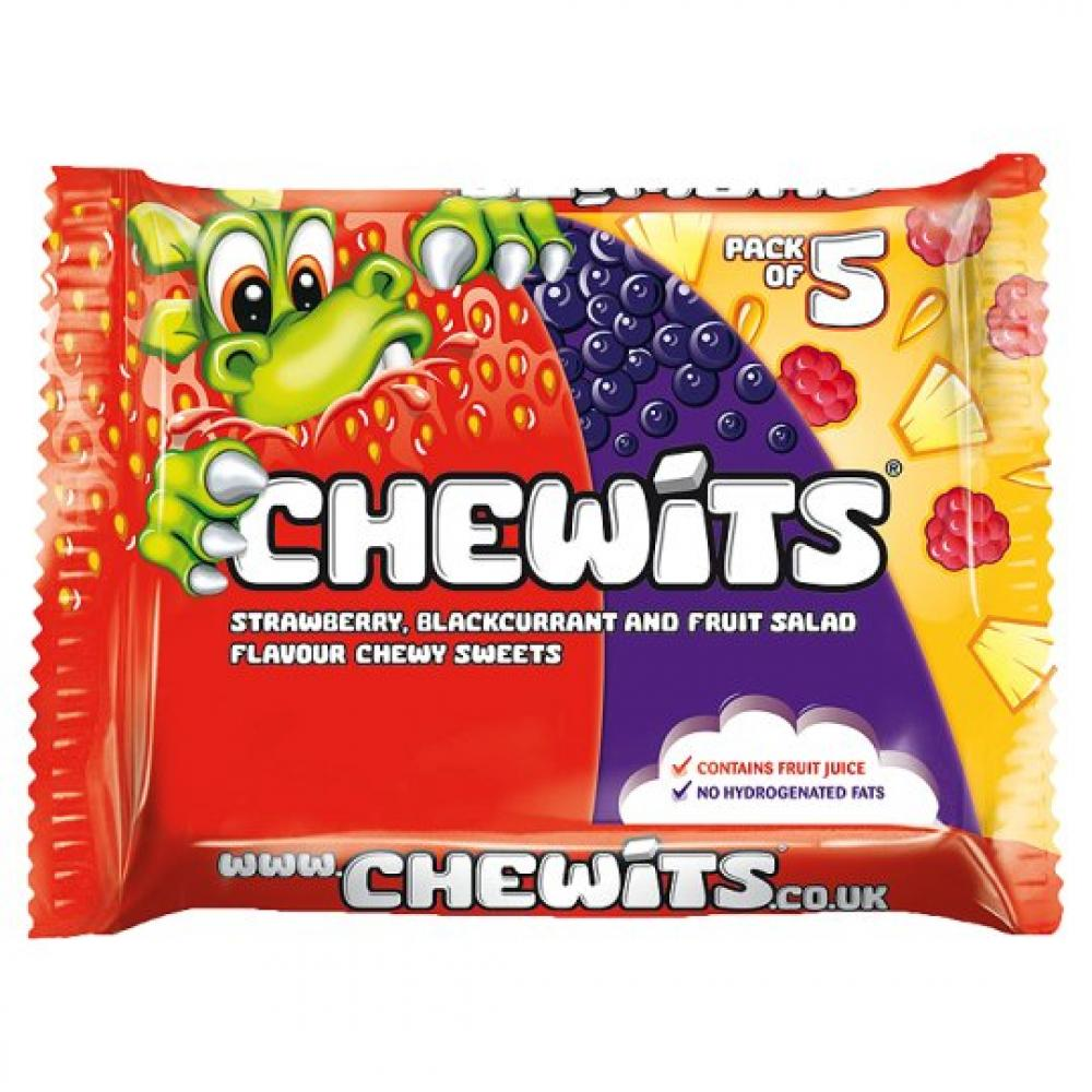 Chewits Variety Pack Of 5