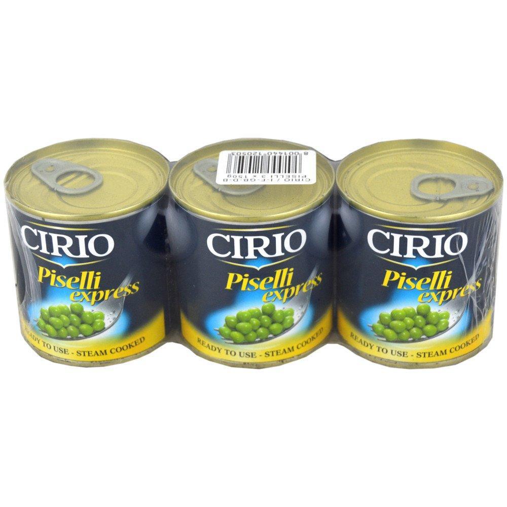 Cirio Piselli Express Peas 150g x 3