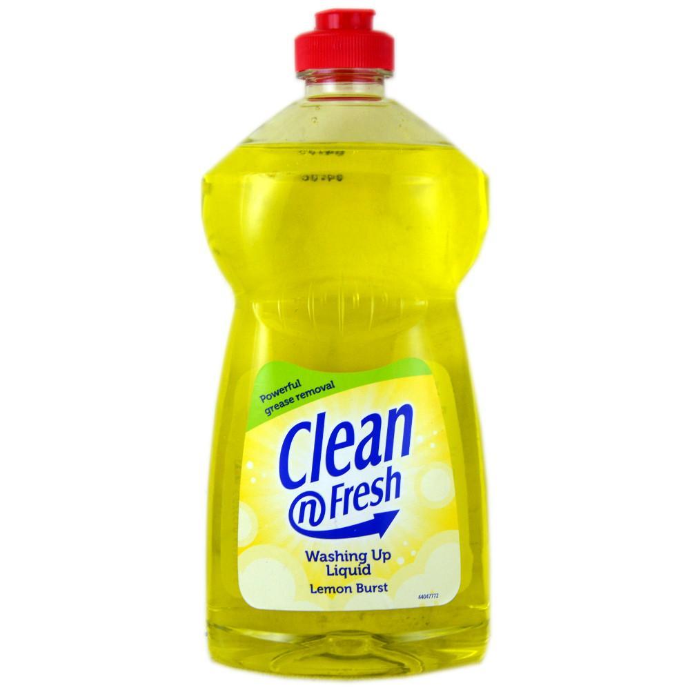 Clean N Fresh Washing Up Liquid Lemon Burst 500ml