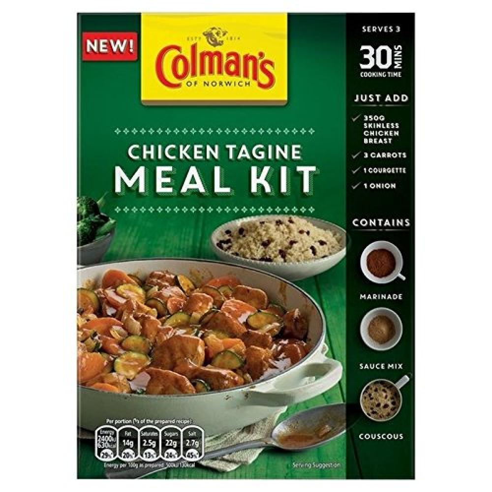Colmans Chicken Tagine Meal Kit 287g