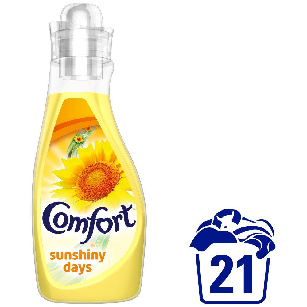 Comfort Fabric Conditioner Sunshiny Days 750ml 21 washes