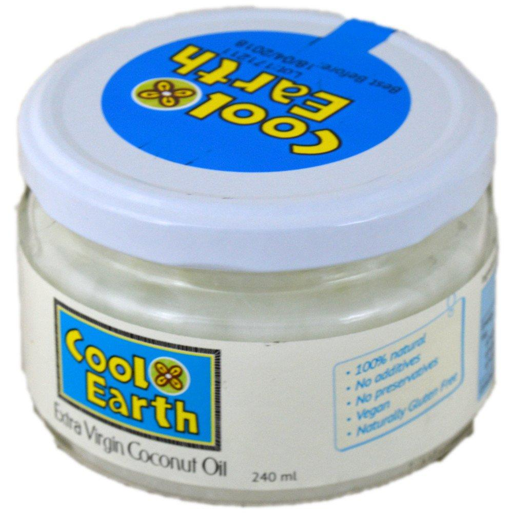 Cool Earth Extra Virgin Coconut Oil 240ml