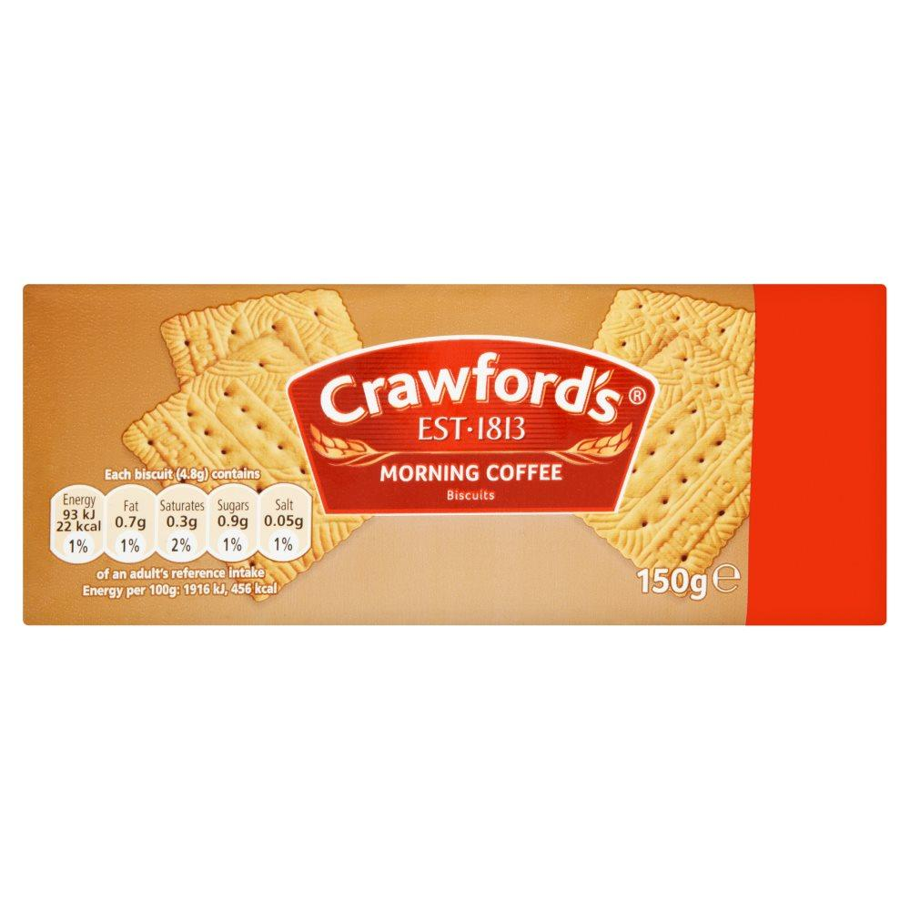 Crawfords Morning Coffee 150g