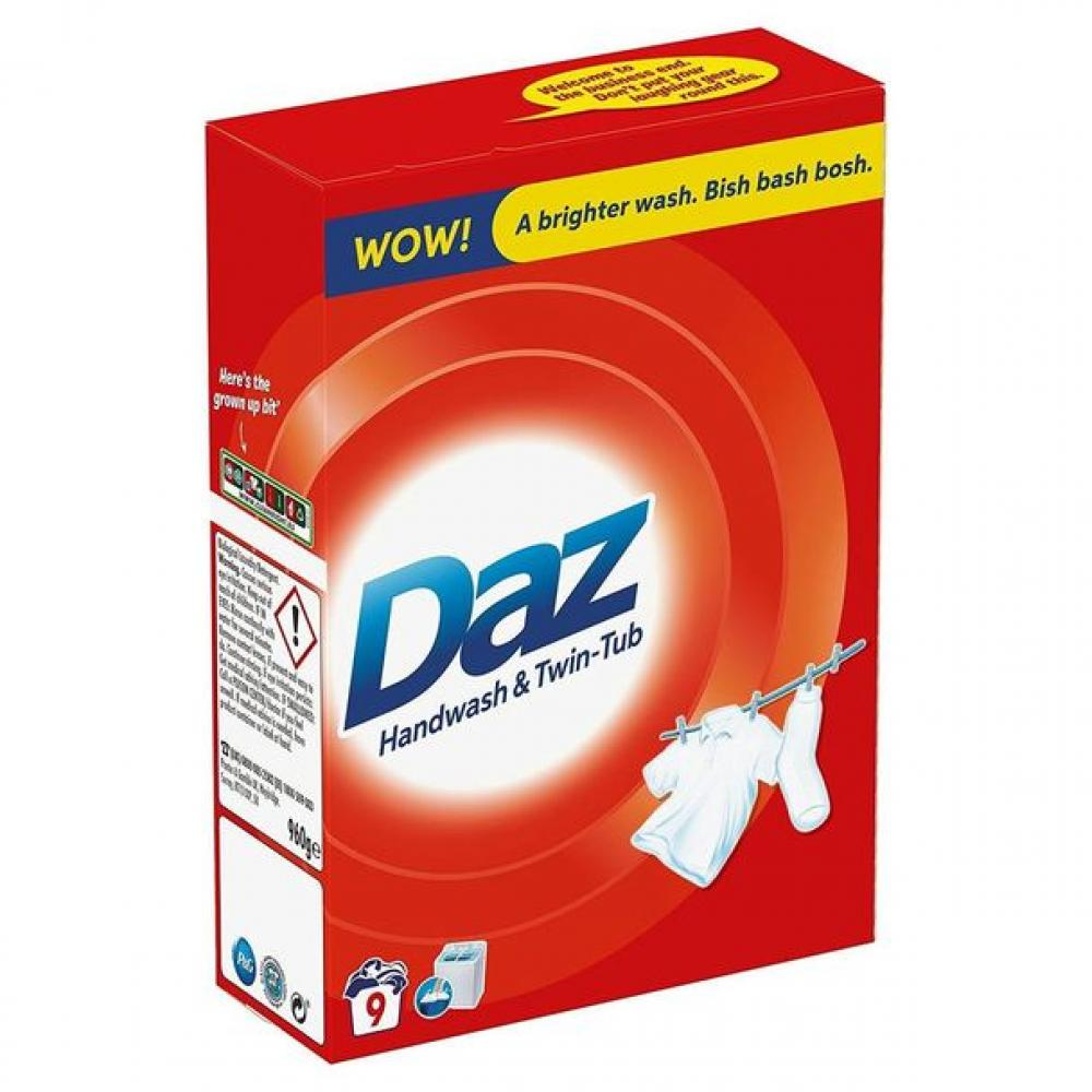 Daz Biological Laundry Detergent 960g