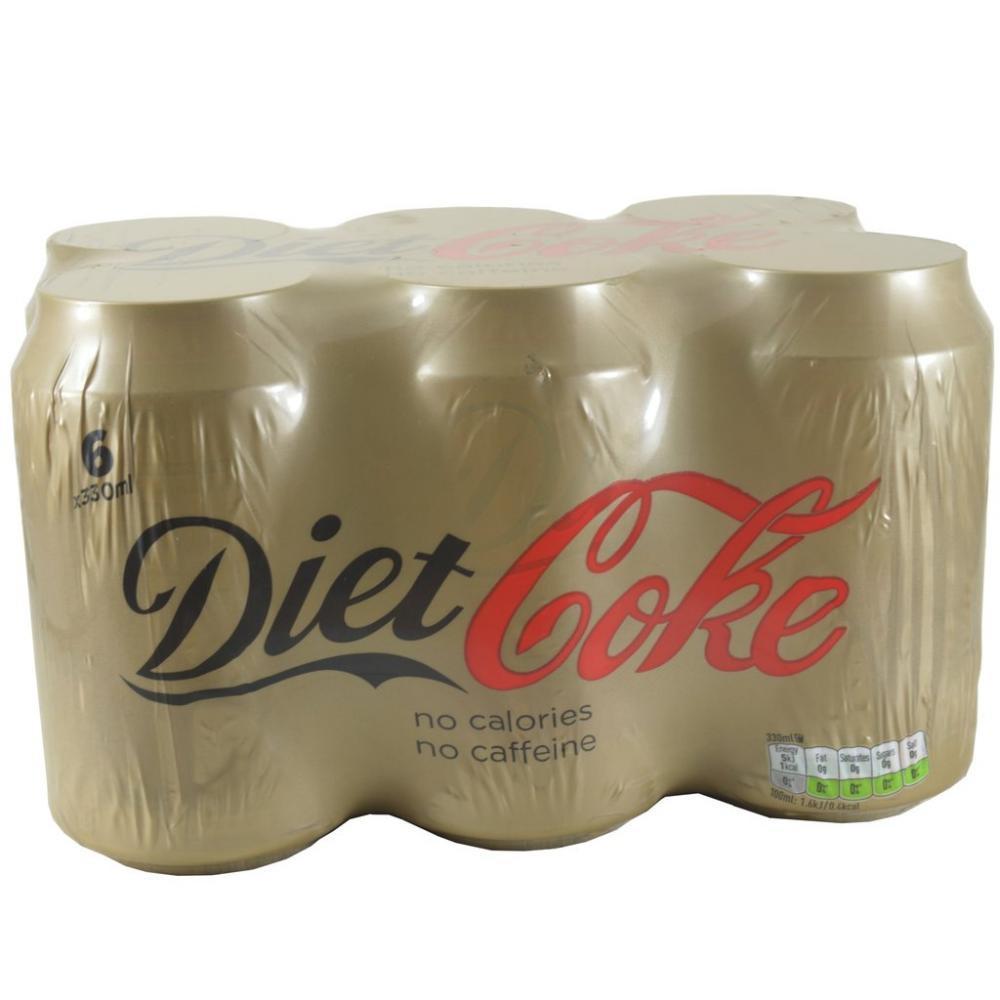 Diet Coke Caffeine Free 330ml x 6