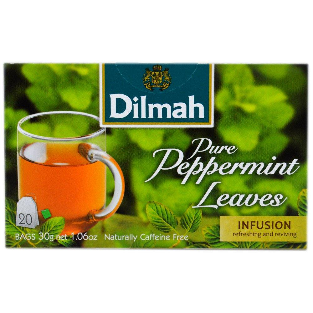 Dilmah Pure Peppermint Leaves 20 Tea Bags