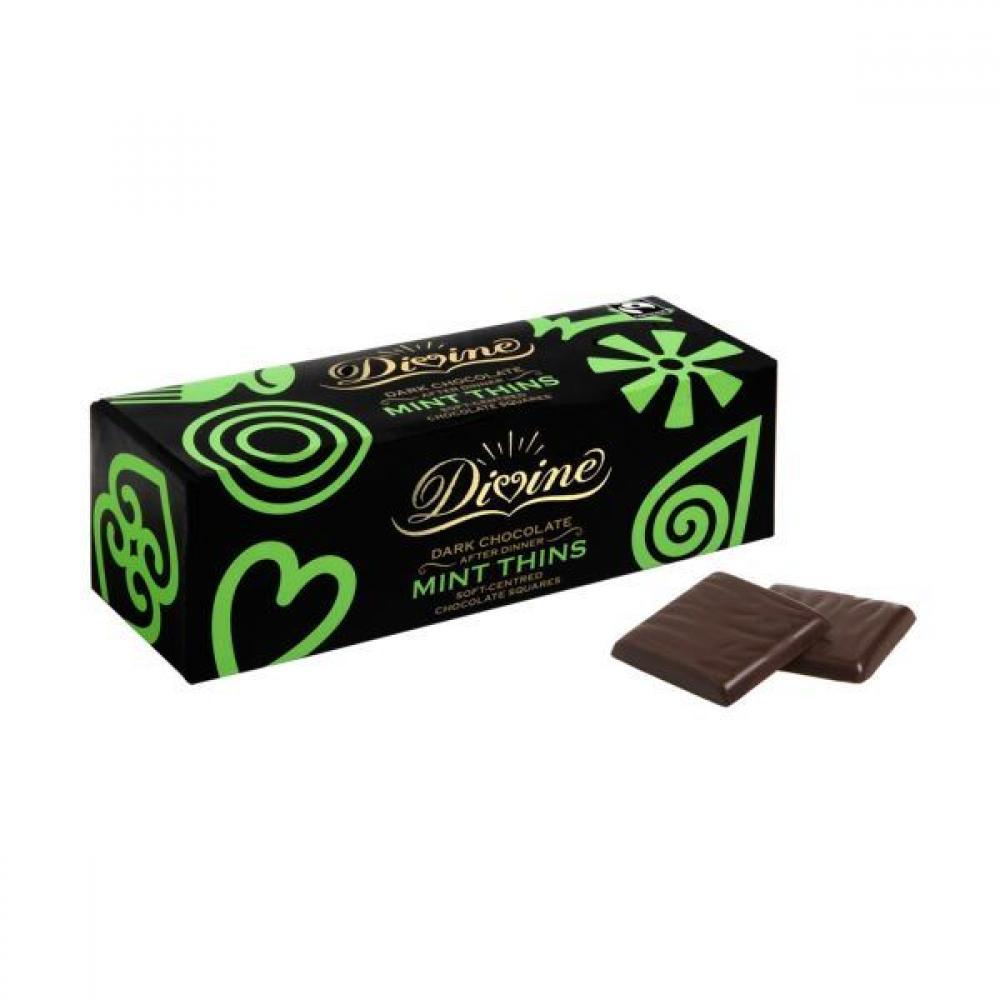 Divine Dark Chocolate After Dinner Mints 200g