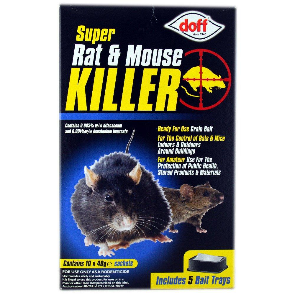 Doff Super Rat and Mouse Killer 40g x 10