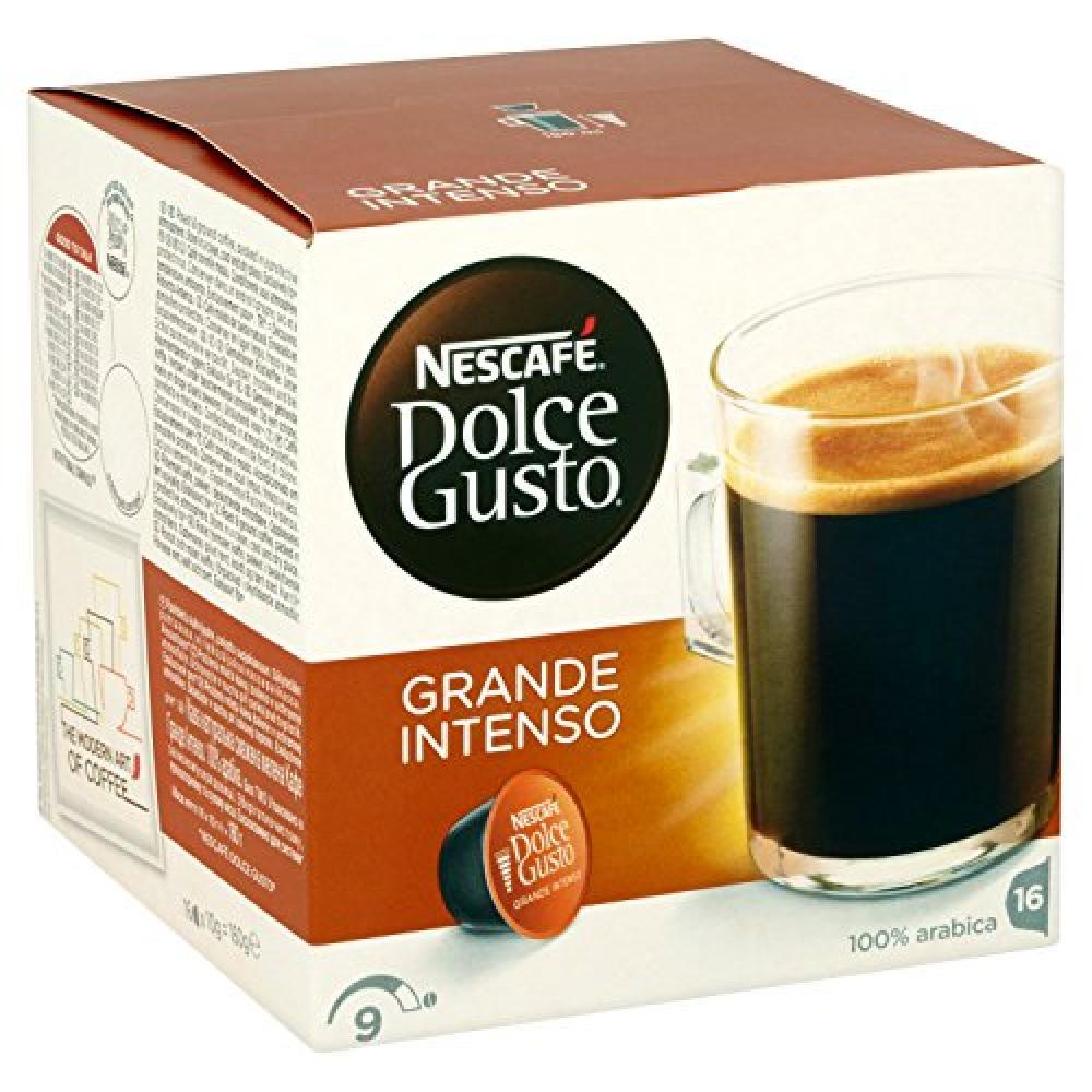 Nescafe Dolce Grande Intenso Coffee Pods - 16 capsules