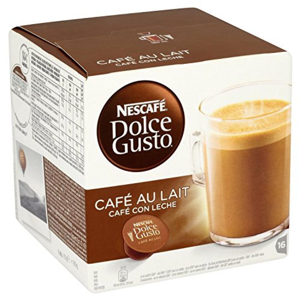 Nescafe Dolce Gusto Cafe Au Lait - 16 pods 160g