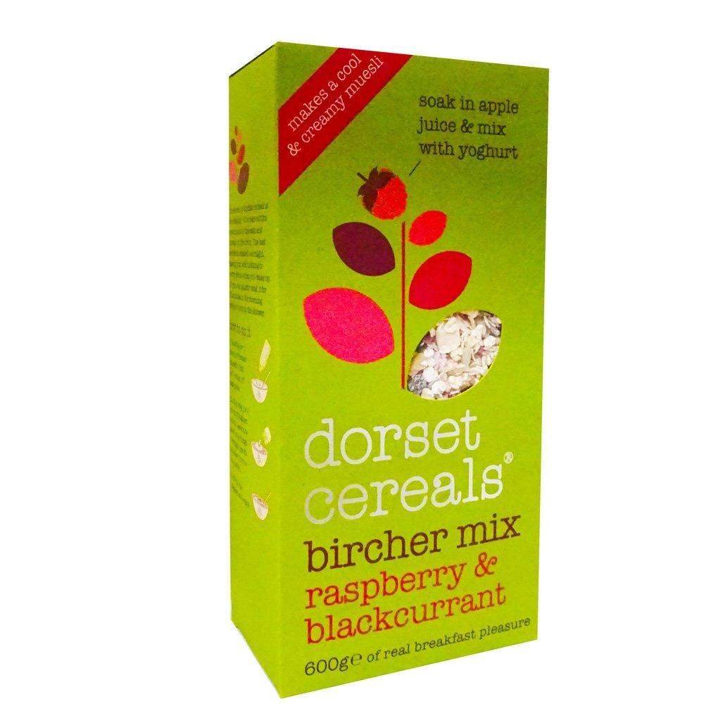 Dorset Cereals Bircher Mix Raspberry and Blackcurrant 600g