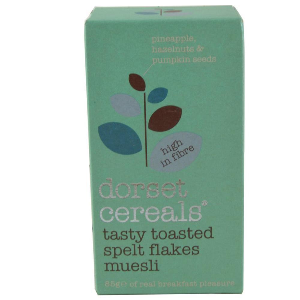 Dorset Cereals Tasty Toasted Spelt Flakes Muesli 85g
