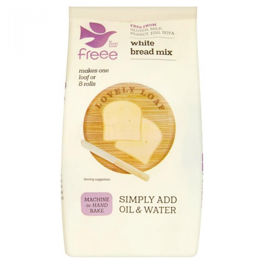 Doves Farm Gluten Free White Bread Mix 500g