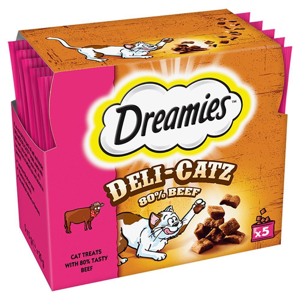 Dreamies Deli Catz Beef Cat Treats 5x5g