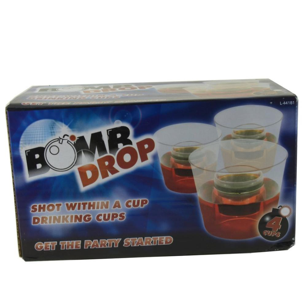 Bomb Drop Drinking Cup 4 Cups