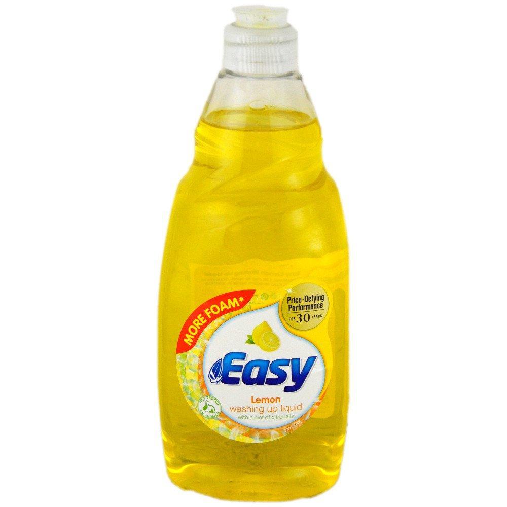 Easy Lemon Washing Up Liquid 550ml