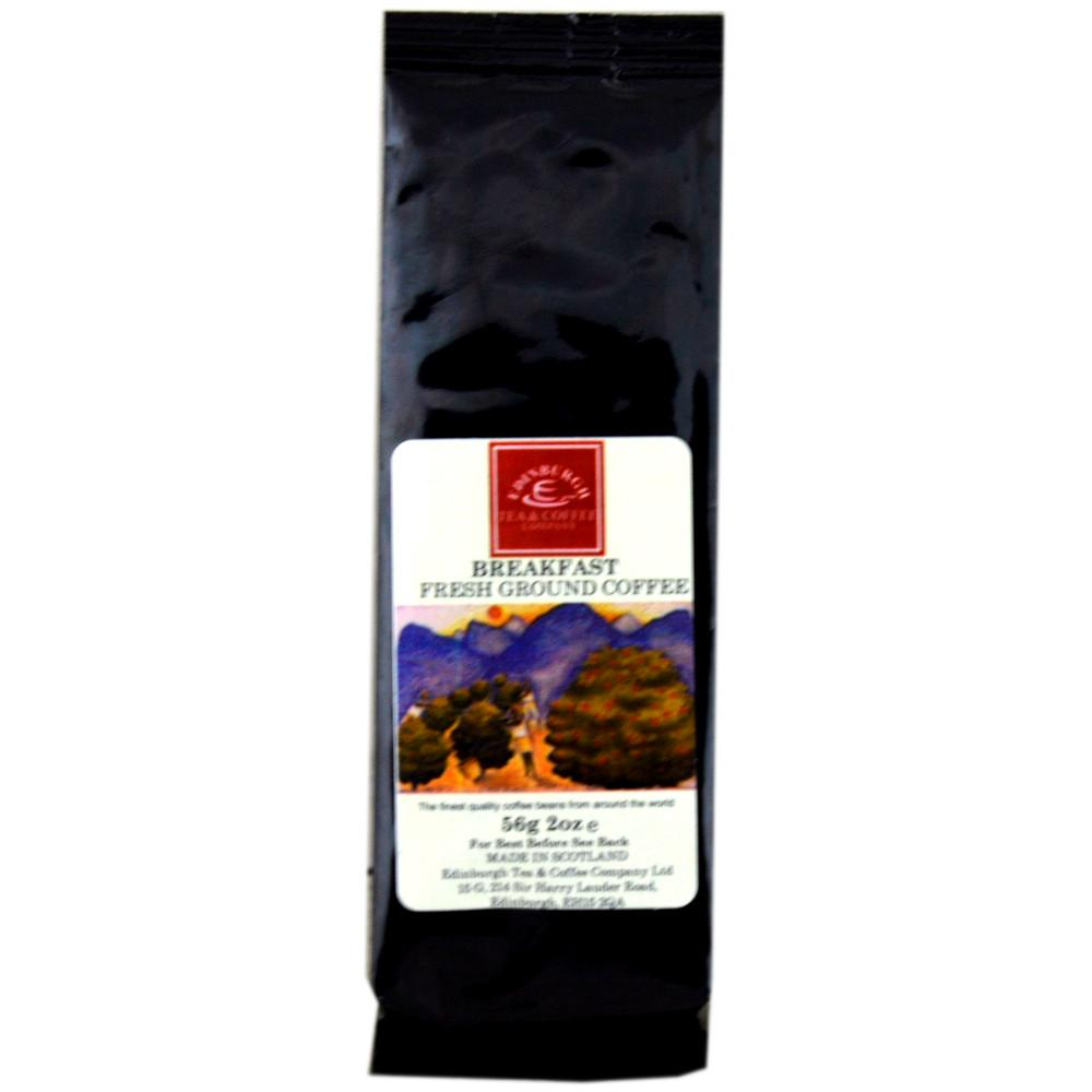 Edinburgh Tea and Coffee Company Breakfast Fresh Ground Coffee 56g