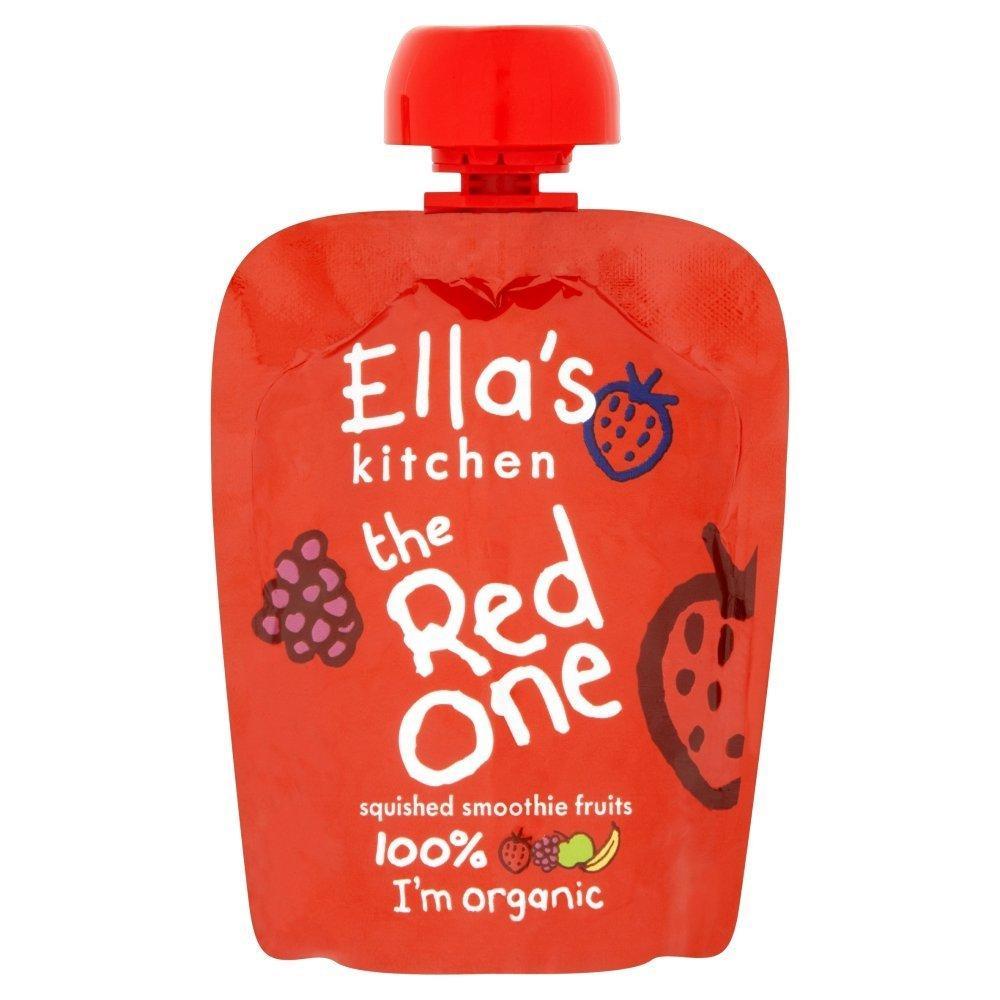 Ellas Kitchen Ellas Kitchen The Red One Organic Smoothie Fruits 90 g