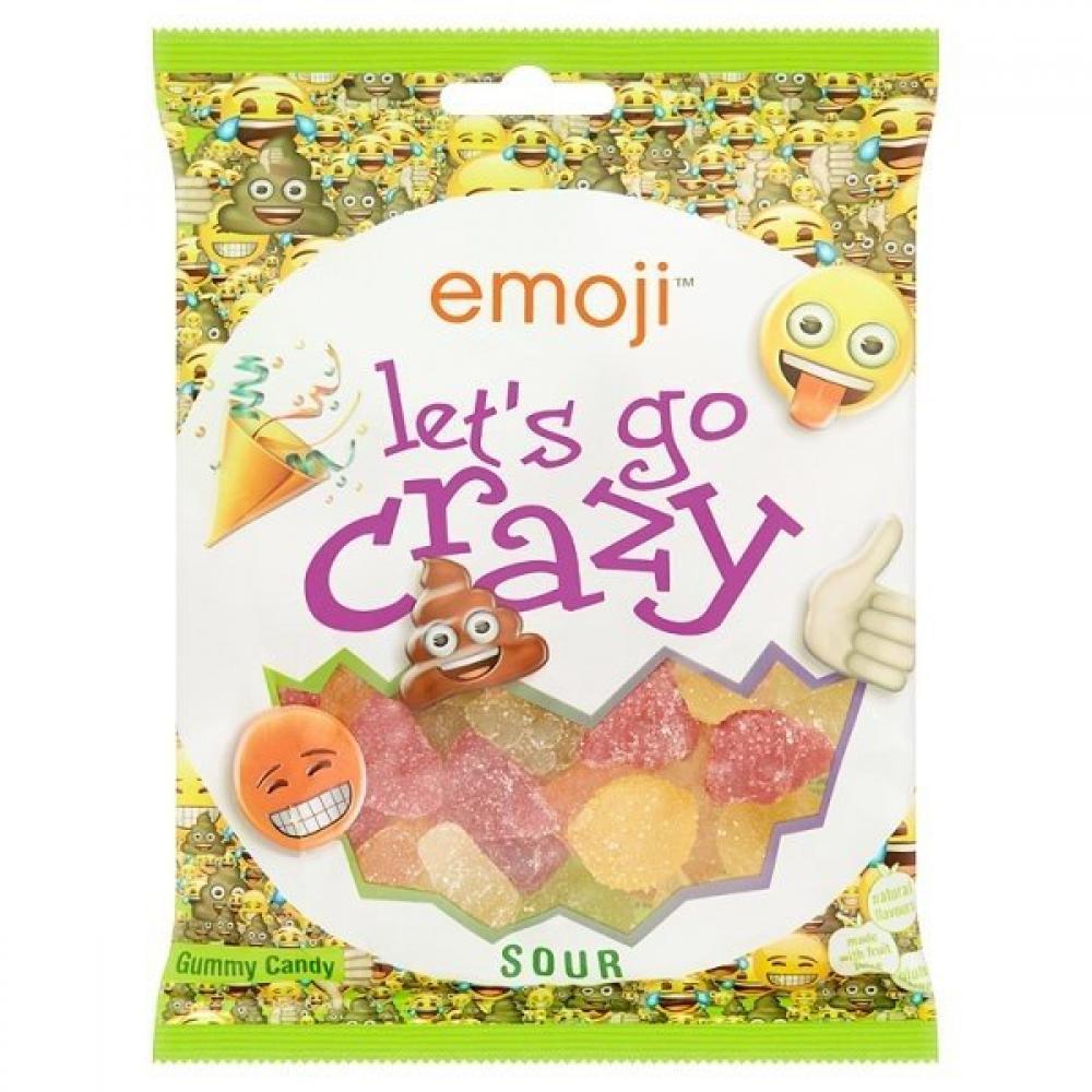 Emoji Lets Go Crazy 175g