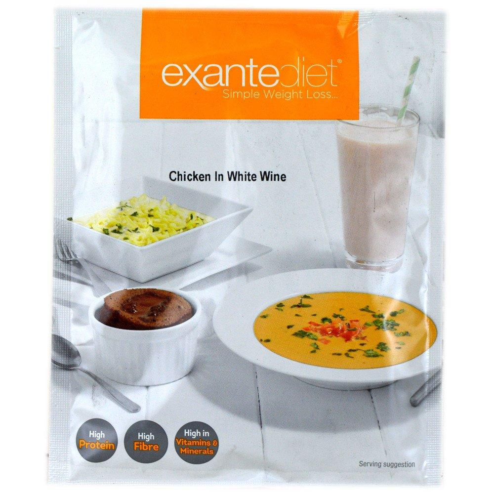 Exante Diet Chicken in White Wine 55g
