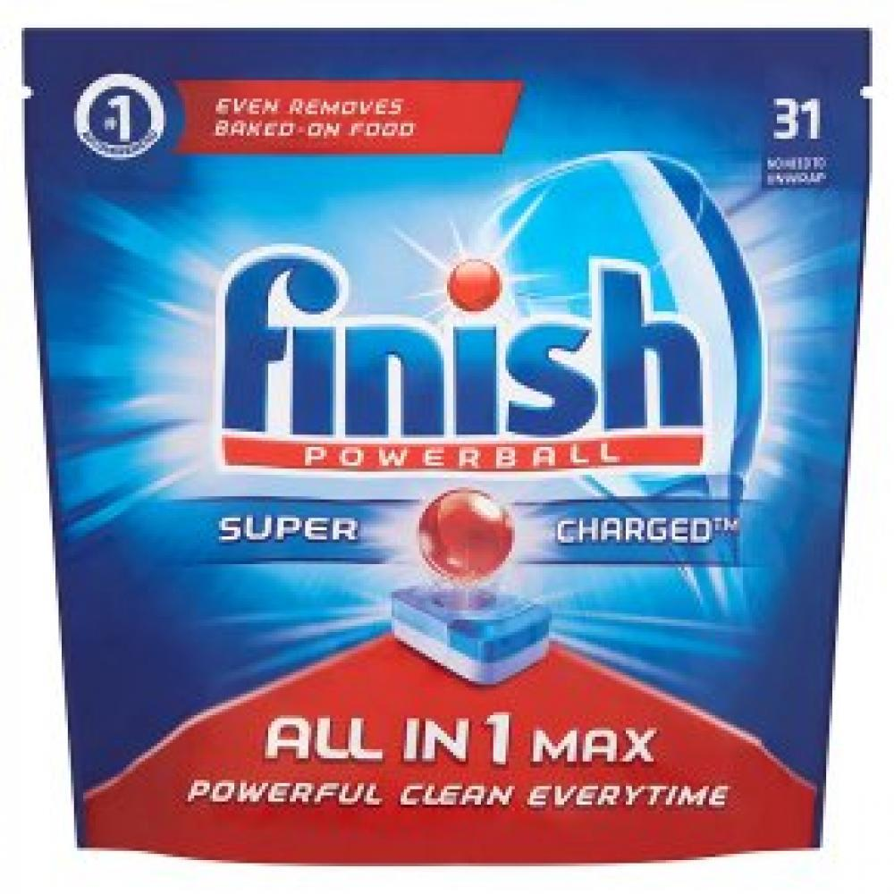 Finish All in One Max Original Dishwasher Tablets 31 Tablets