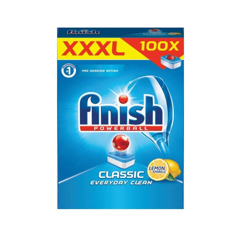 Finish Powerball Lemon Sparkle Dishwasher Tablets 110 pack