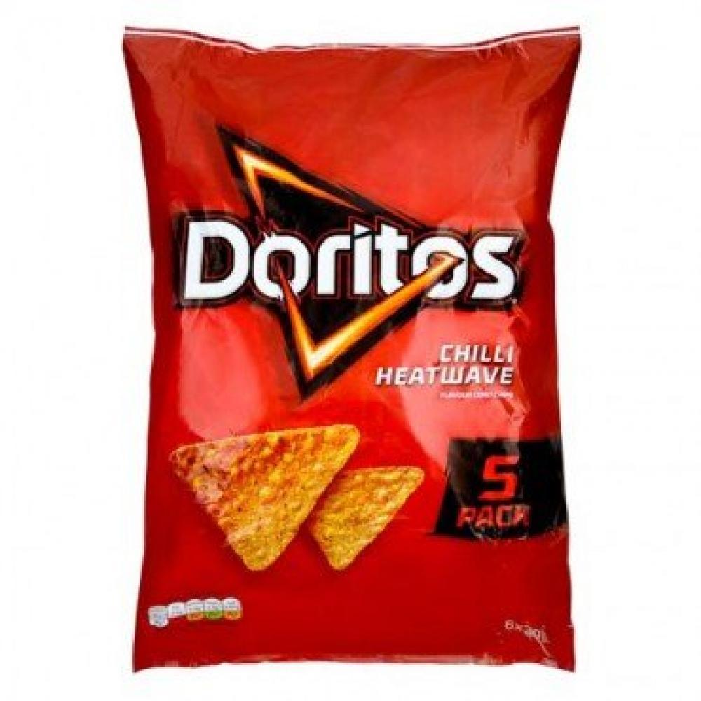Doritos Chilli Heatwave Flavour 5 x 30g