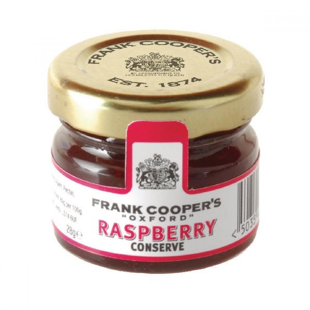 Frank Coopers Raspberry Jam Conserve 28g