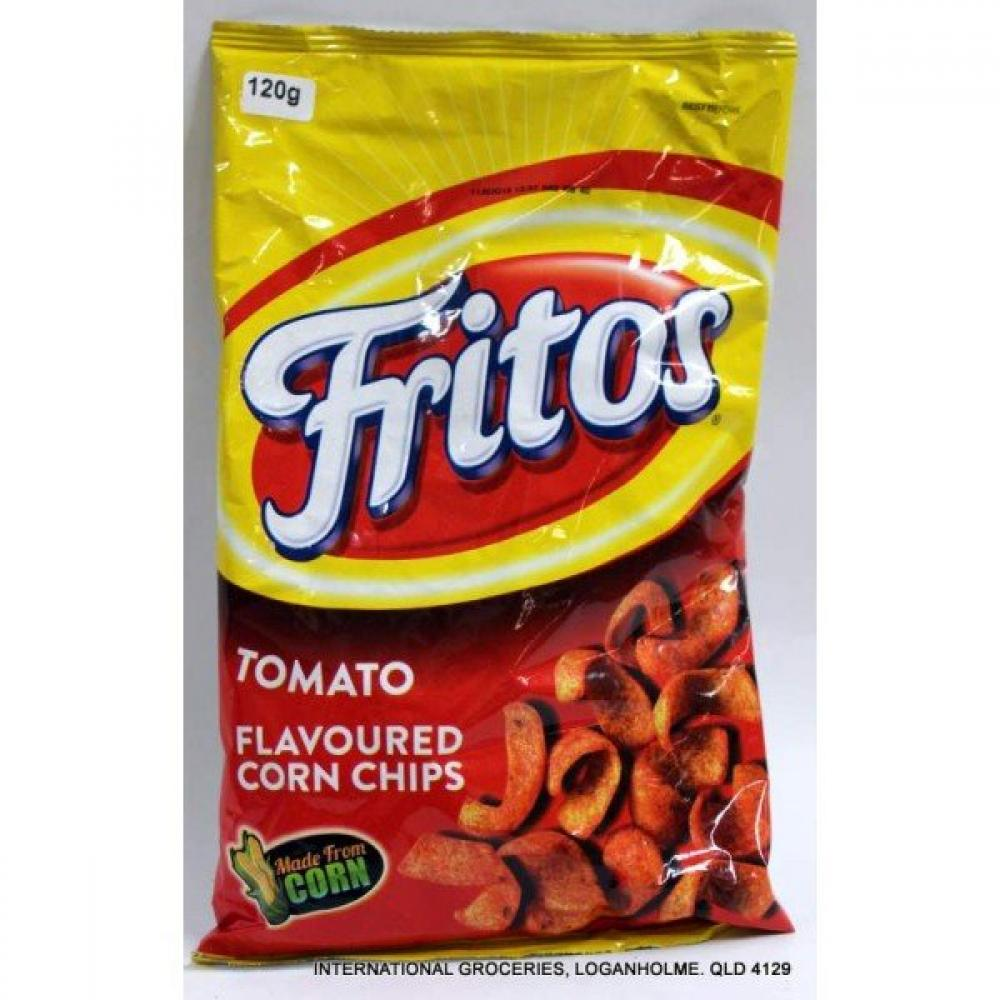 fritos Tomato Flavoured Corn Chips 120g