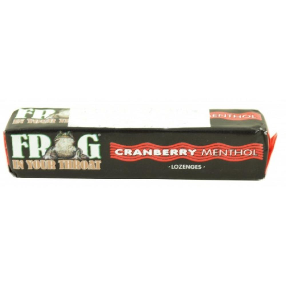 Frog In Your Throat Cranberry Menthol Lozenges
