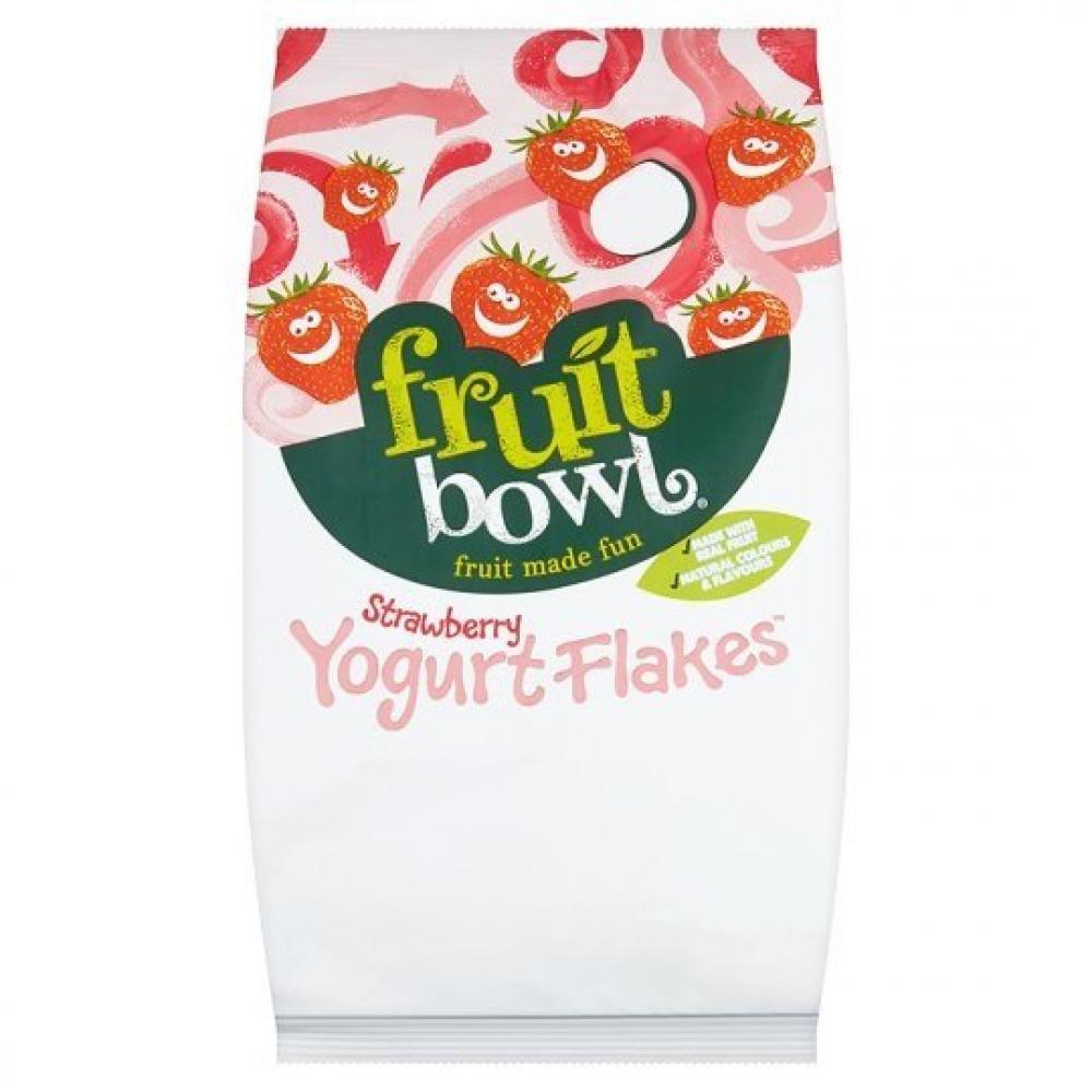 Fruit Bowl Strawberry Yogurt Flakes 21g x 24