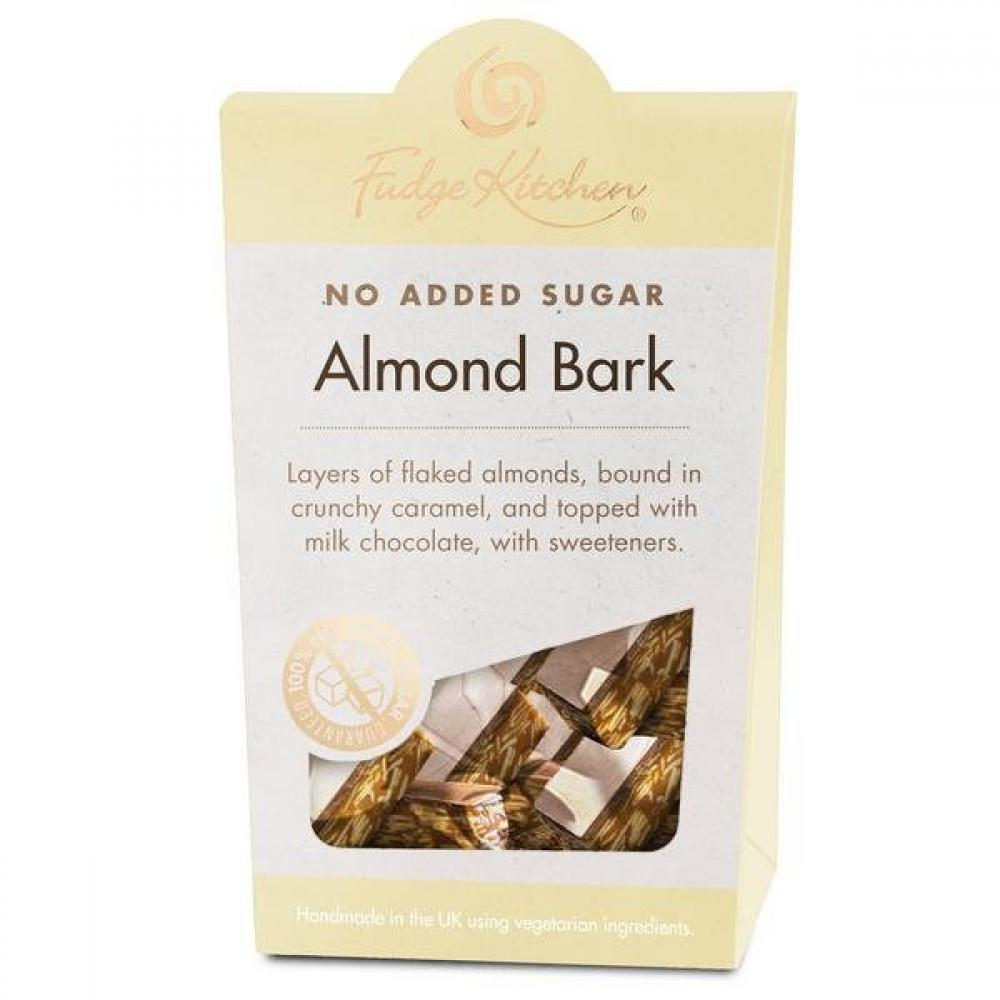 Fudge Kitchen Almond Bark Chocolate 125g