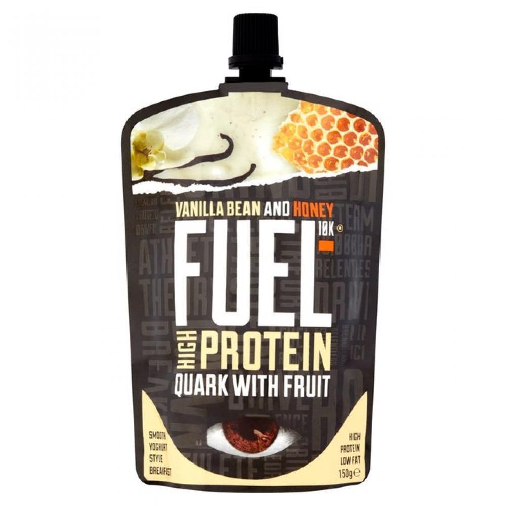 Fuel 10K Quark with Fruit Strawberry and Banana 150g
