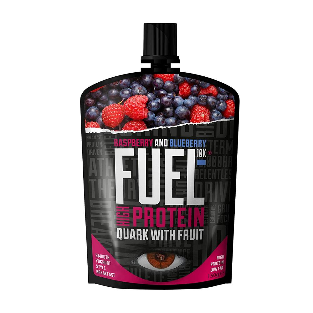Fuel 10K Raspberry and Blueberry Fuel High Protein Quark 150g