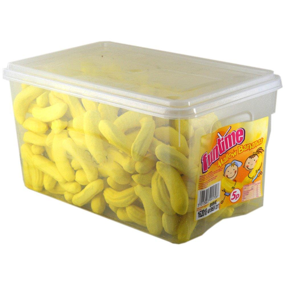 Funtime Mallow Bananas 1440g 240 count