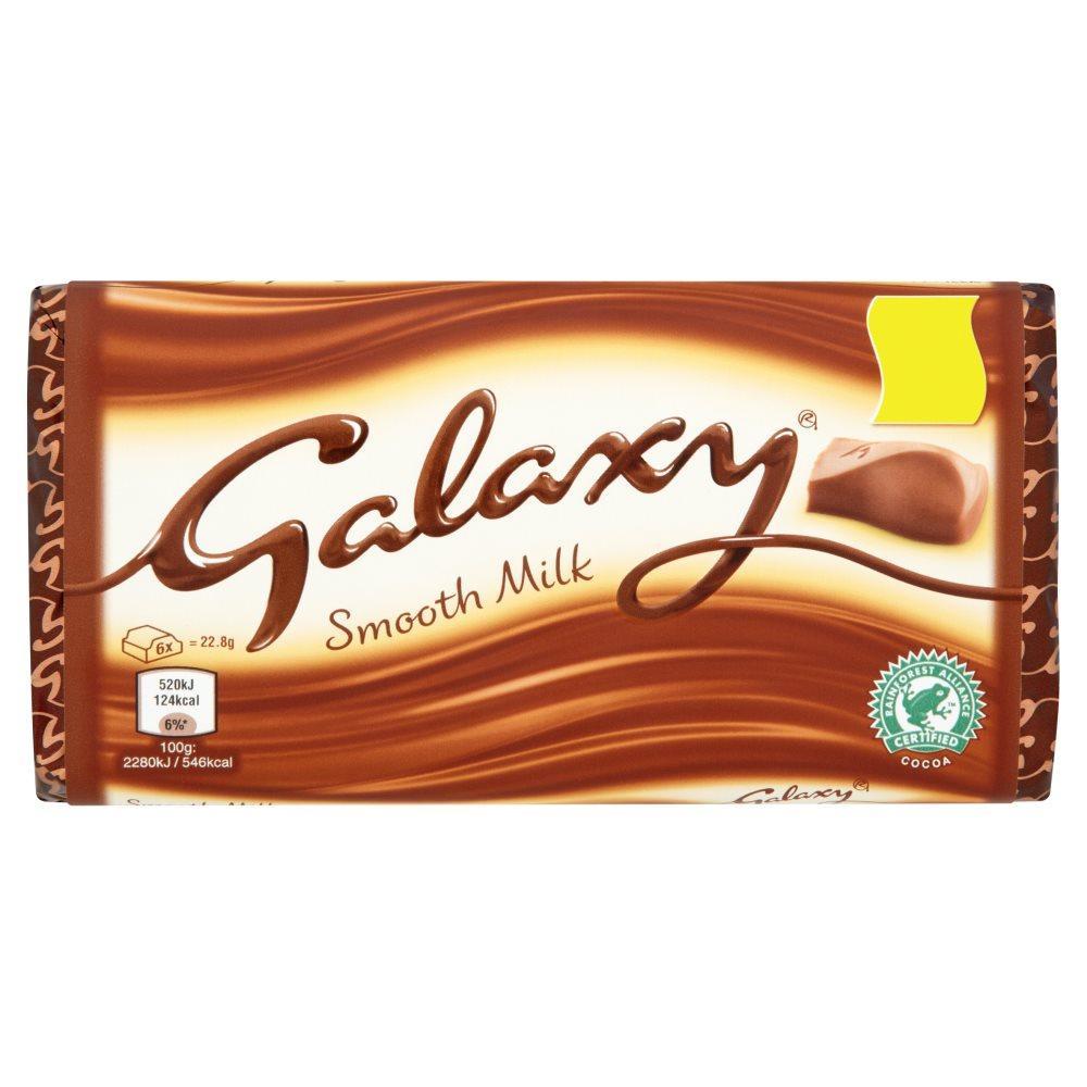 Galaxy Milk Chocolate 114g